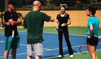 Simona Halep, prima reactie dupa intalnirea cu legendarii Steffi Graf si Andre Agassi