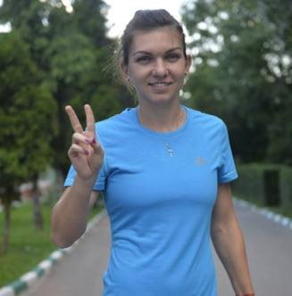 Simona Halep, reactie emotionanta dupa infrangerea din SUA