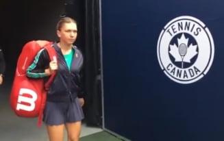 Simona Halep, sleita de puteri dupa victoria de la Rogers Cup: Sunt putin moarta!