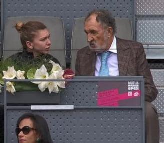 Simona Halep, spectator de lux la Madrid: La meciuri alaturi de Tiriac si un antrenor celebru