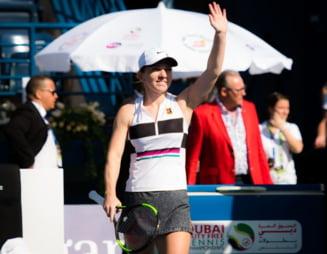 Simona Halep, vazuta cu sansa a doua la castigarea turneului de la Dubai