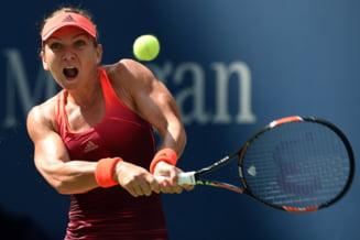 Simona Halep, victorie categorica in primul tur la US Open