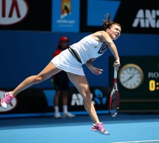 Simona Halep, victorie dramatica la Indian Wells