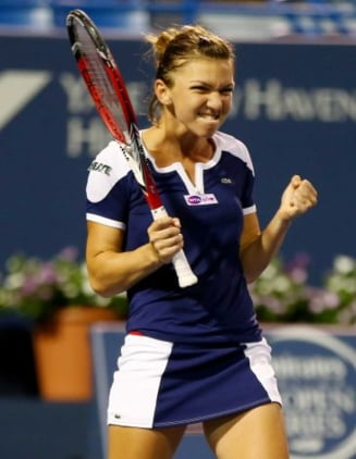 Simona Halep, victorie mare in SUA: A castigat turneul de la New Haven (Video)