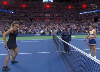 "Simona Halep a ""invins-o"" pe Sharapova: A avut cel mai frumos echipament de la US Open"