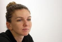 Simona Halep a abandonat si in proba de dublu de la Wuhan