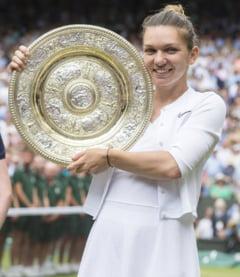 Simona Halep a adus in Romania trofeul Wimbledon: Primele declaratii de la sosirea in tara