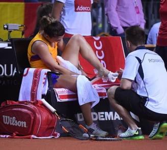 Simona Halep a ajuns la spital dupa meciul de Fed Cup