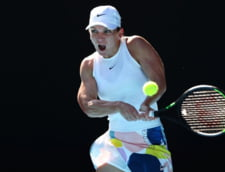 Simona Halep a avut o iesire nervoasa dupa ce a pierdut primul set al semifinalei cu Muguruza: Ce-a strigat catre loja ei