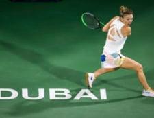 Simona Halep a castigat dramatic finala turneului de la Dubai