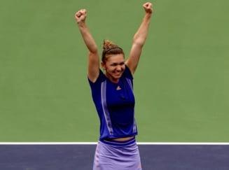 Simona Halep a castigat fabulos finala turneului de la Indian Wells