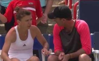 Simona Halep a cerut ajutorul lui Darren Cahill - ce i-a transmis antrenorul australian