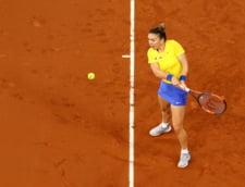 Simona Halep a comentat prezenta lui Ion Tiriac la Rouen si a prefatat meciul de maine cu Caroline Garcia