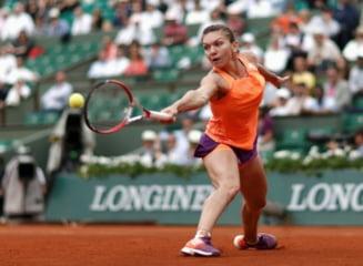 Simona Halep a debutat cu dreptul la Roma