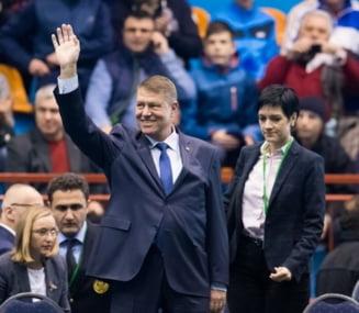 Simona Halep a dezvaluit pentru WTA ce i-a spus presedintele Iohannis la vestiare