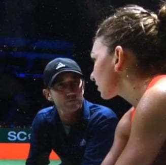 Simona Halep a explicat de ce a fost invinsa din nou de Maria Sharapova (Video)