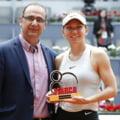 Simona Halep a fost desemnata cea mai buna sportiva din istoria turneului patronat de Ion Tiriac