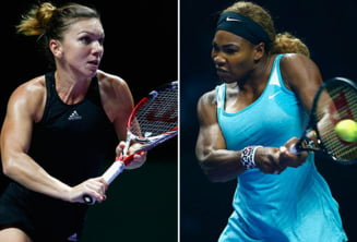 Simona Halep a fost invinsa de Serena Williams in finala Turneului Campioanelor
