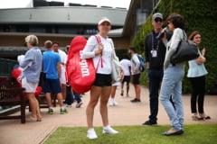 Simona Halep a fost vizitata de Darren Cahill, cu o zi inainte de debutul sau la Wimbledon