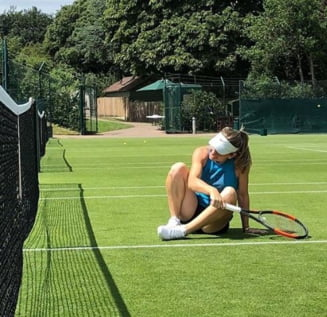 Simona Halep a inceput antrenamentele la Wimbledon
