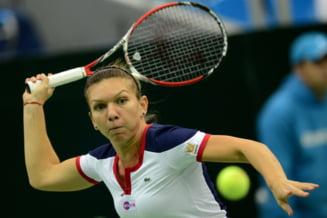 Simona Halep a inceput in forta la Indian Wells