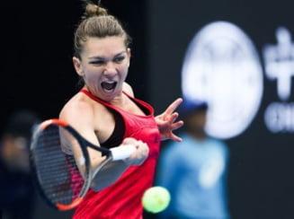Simona Halep a invins-o categoric pe Caroline Garcia la Turneul Campioanelor