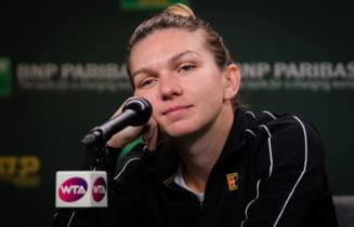 Simona Halep a izbucnit in lacrimi dupa eliminarea de la Indian Wells: Explicatiile sportivei noastre