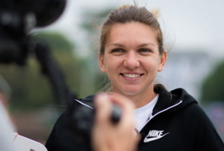 Simona Halep a obtinut a doua victorie intr-o singura zi la Eastbourne