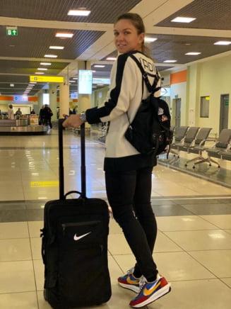 Simona Halep a plecat catre Shenzhen, pentru Turneul Campioanelor. Ce mesaj a postat campioana noastra, pe aeroport