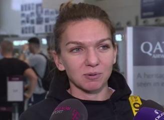 Simona Halep a plecat spre Australia: Ce spune despre accidentare si ce obiectiv are la primul Grand Slam al anului