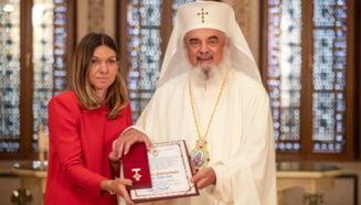 Simona Halep a primit cea mai inalta distinctie a Patriarhiei Romane: Totdeauna ii multumesc lui Dumnezeu