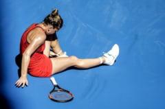 Simona Halep a primit diagnosticul medicilor dupa accidentarea de la Australian Open