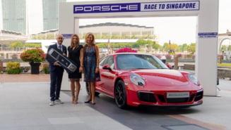 Simona Halep a primit un Porsche de peste 110.000 de dolari pentru locul 1 din clasamentul WTA Race (Foto)