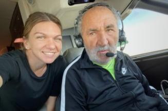 Simona Halep a publicat fotografia zilei in sport: Cum a fost surprinsa alaturi de Ion Tiriac