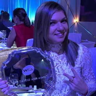 Simona Halep a reusit cea mai frumoasa lovitura de la Turneul Campioanelor (Video)