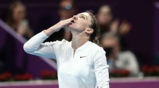 Simona Halep a reusit lovitura turneului la Doha (Video)