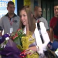 Simona Halep a revenit in Romania: Primire superba la Otopeni