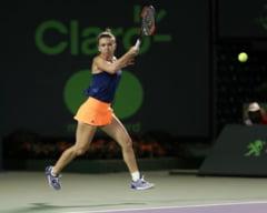 Simona Halep a revenit senzational si s-a calificat in sferturi la Miami