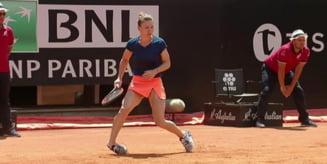 Simona Halep a vorbit despre cat de grava e accidentarea din finala de la Roma
