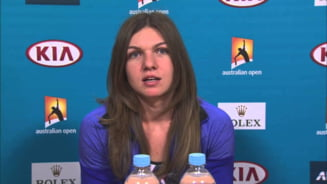Simona Halep a vorbit despre obiectivele sale la Australian Open: Am venit aici fara asteptari