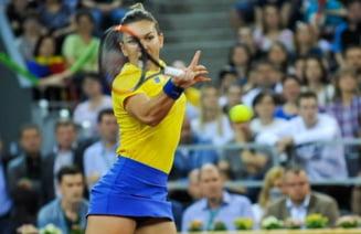 Simona Halep aduce primul punct pentru Romania in confruntarea cu Elvetia din Fed Cup