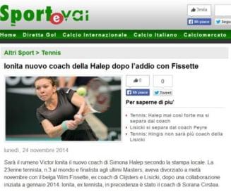 Simona Halep are un nou antrenor: Ce scrie presa internationala