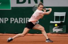 Simona Halep avanseaza cu emotii in turul doi de la Roland Garros