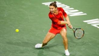 Simona Halep avanseaza fara emotii in sferturile de finala la Indian Wells
