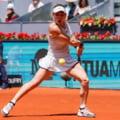Simona Halep avanseaza in turul II la Madrid dupa o partida cu un final tensionat