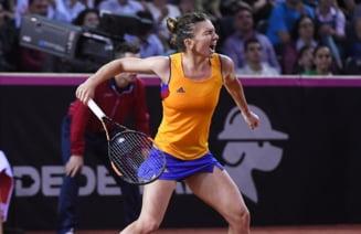 Simona Halep avanseaza la Bucuresti dupa o victorie in trei seturi