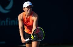 Simona Halep avanseaza la Rogers Cup dupa un meci cu final de infarct