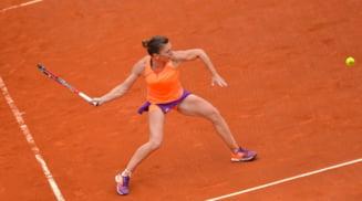 Simona Halep avanseaza la Roland Garros dupa un meci palpitant