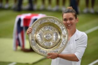 Simona Halep castiga minunat finala de la Wimbledon dupa o lectie de tenis predata Serenei Williams