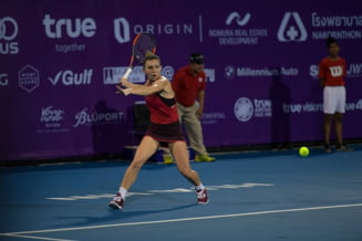 Simona Halep castiga turneul de la Hua Hin intr-o maniera entuziasmanta